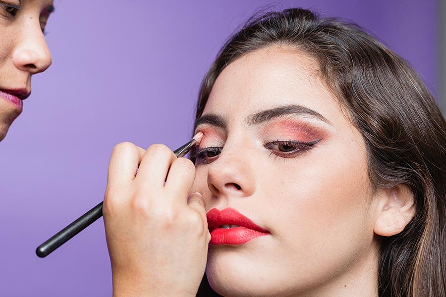 sombras y contrastes maquillaje para ojos